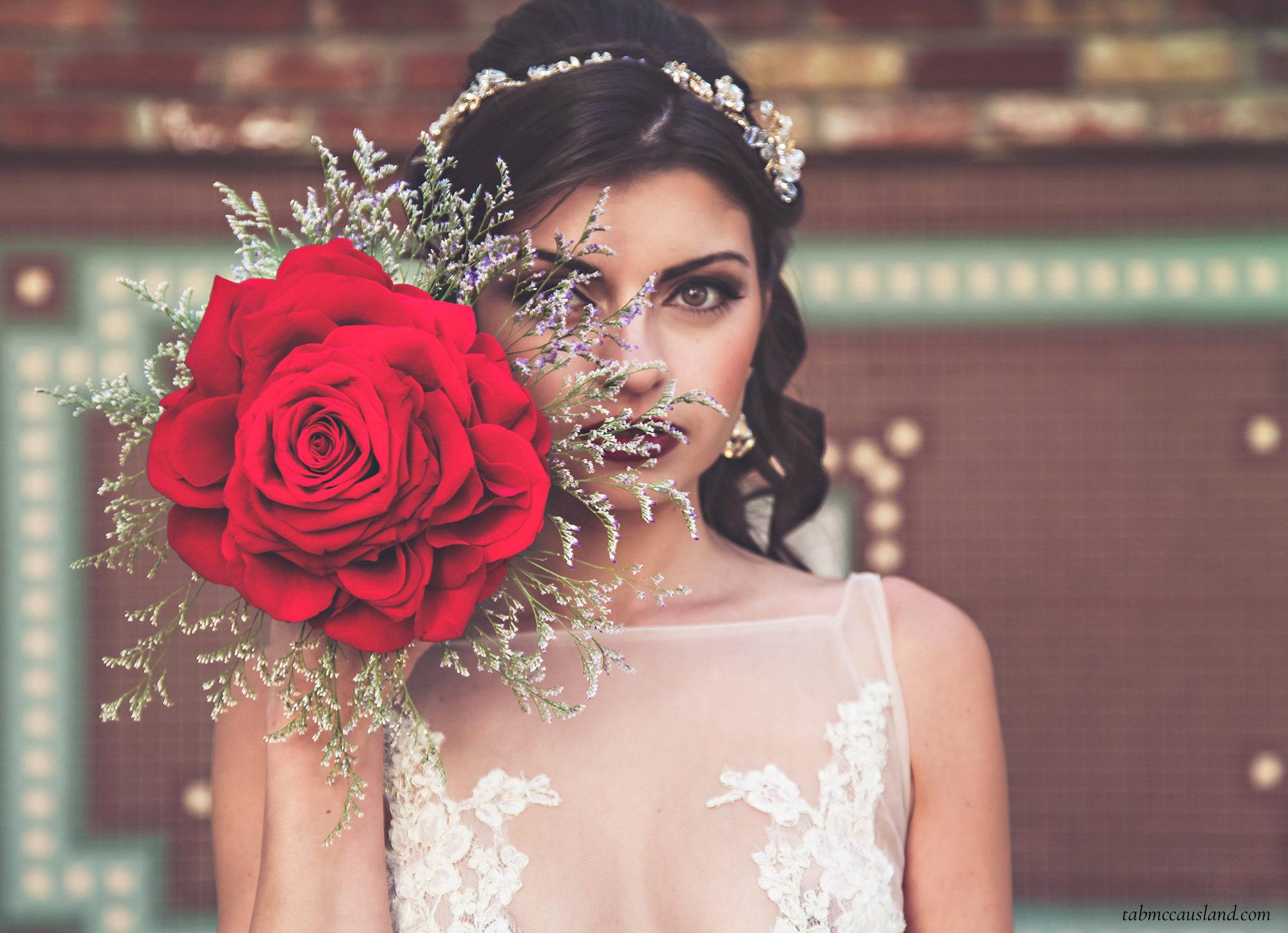 Wedding Flowers Red Rose